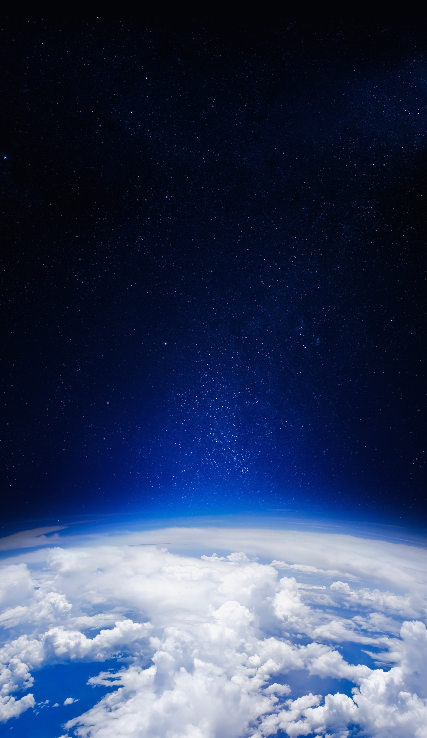 iPhone 6   iPhone 6 Plus Wallpapers     Gadgetmac iphone 6 6 plus space and earth blue
