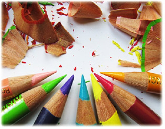 Peek at the Week - How to Sharpen Colored Pencils from ArtisFun.com | @bisforbookworm