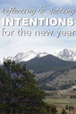 Reflecting and Setting Intentions for the New Year   Going Zero Waste reflecting and setting intentions for the new year  2017 is going to be a  year