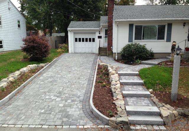 Driveways Design In MA Natural Path Landscaping