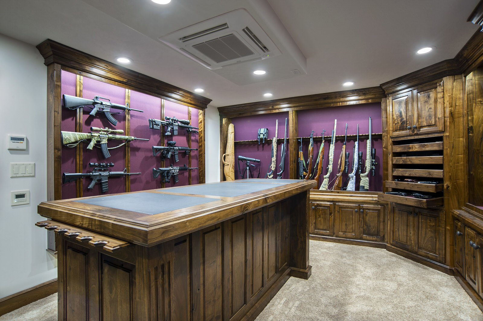 Gun Rooms Amp Gun Cabinetry Julian Amp Sons Fine Woodworking