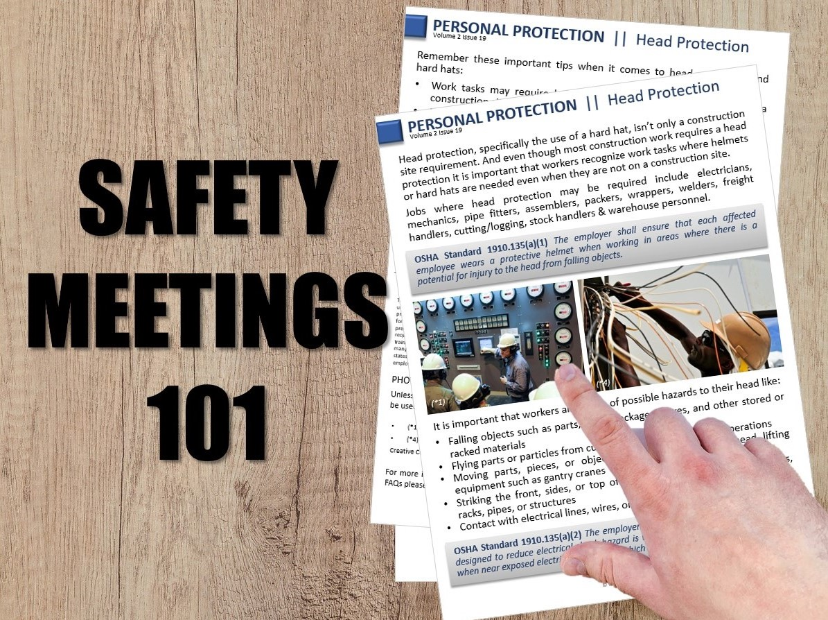Safety Meetings 101