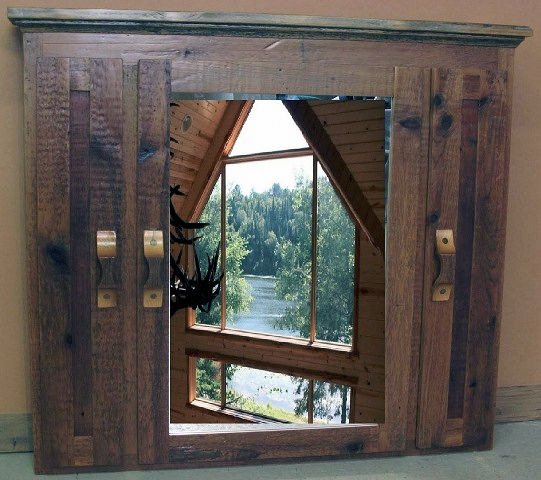 Rustic Medicine Cabinets Barn Wood Furniture Rustic
