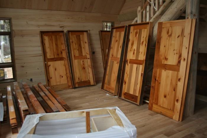 Reclaimed Barnwood Interior Doors