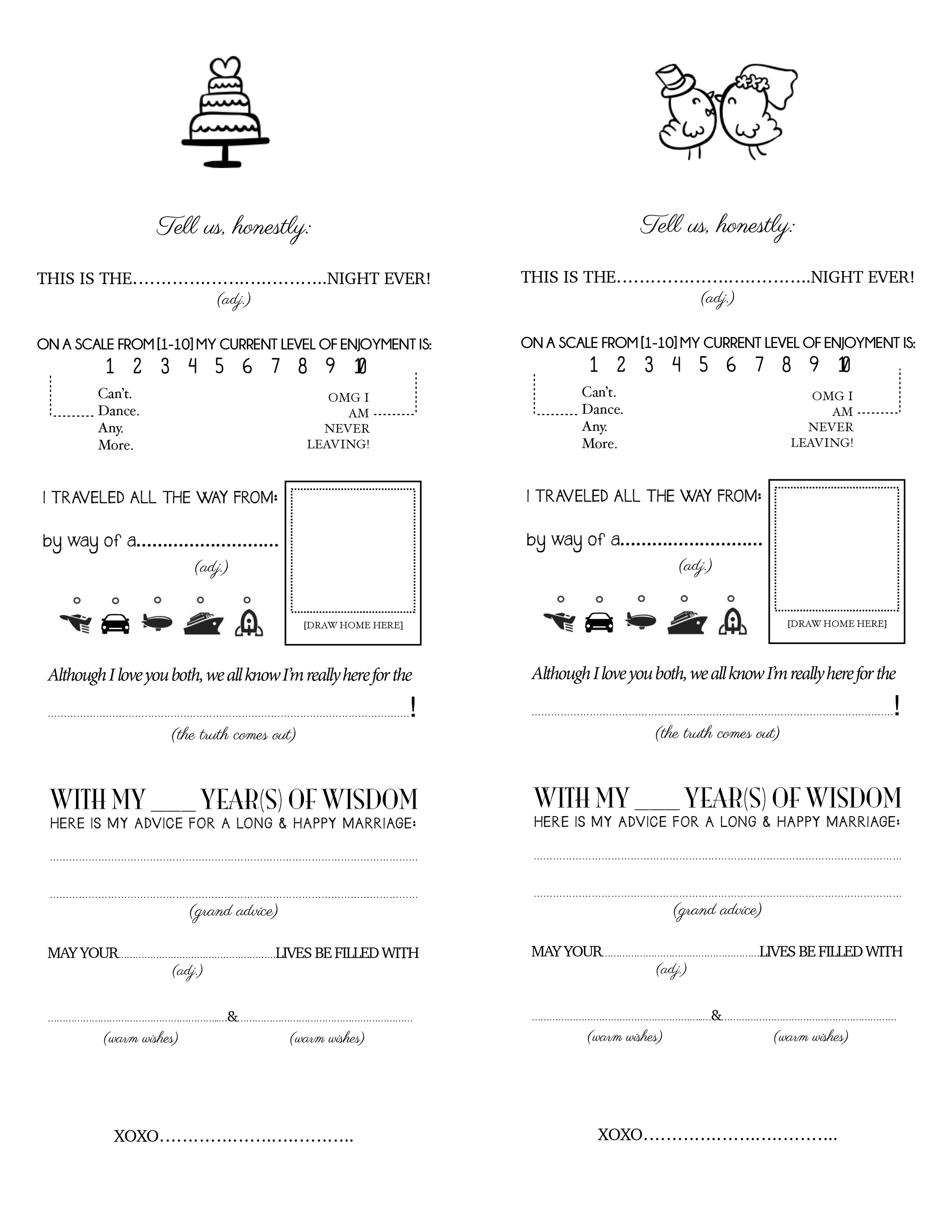 Photo Printable Surveys Images – Free Printable Questionnaire Template