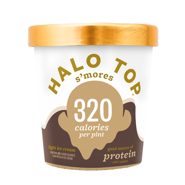 Halo Top S'mores Ice Cream