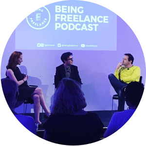 Being Freelance Podcast LIVE at IPSE's National Freelancers Day in London 2019