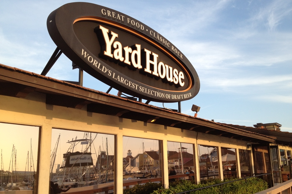 Yard House Restaurant Long Beach