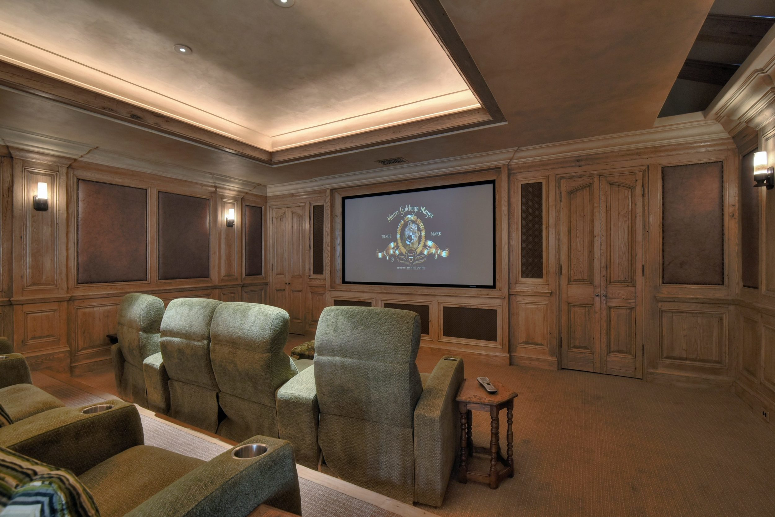 Best Kitchen Gallery: Dedicated Home Theater Immersive Experiences Custom Home Theater of Custom Home Theater Design  on rachelxblog.com