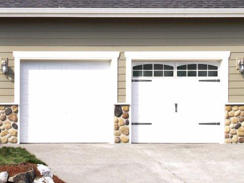 Plum Pretty Decor & Design Co.Faux Carriage Style Garage