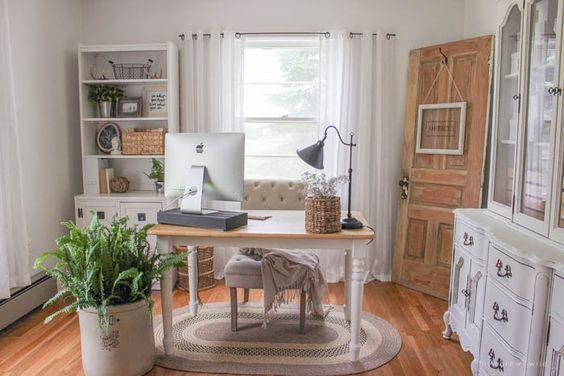 Plum Pretty Decor & Design Co.Farmhouse Style Office Plans