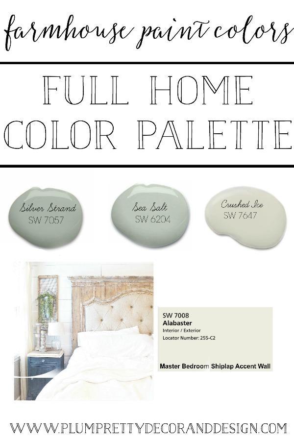 Plum Pretty Decor Amp Design CoFarmhouse Paint Colors The