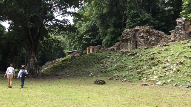 Yaxchilán, La Selva Lacandona