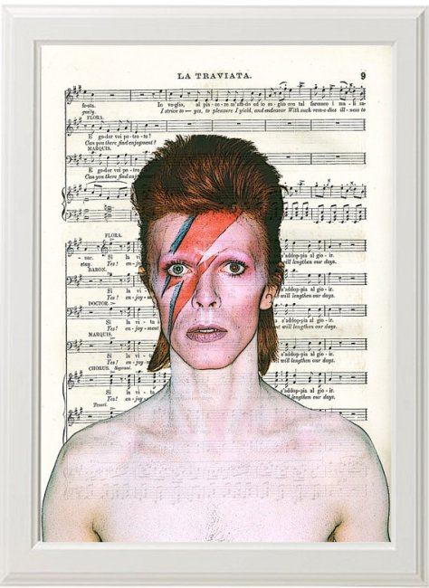 bowie sheet music