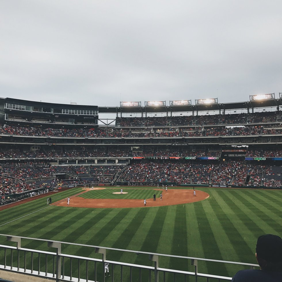 Nationals Baseball Game | Photo Credit: Chad Jimenez