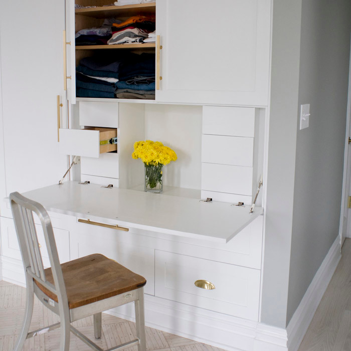 Creative Ways To Hide A Small Home Office RenoGuide