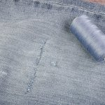 Wonderfil Specialty Threads How To Patch Jeans Without A Sewing Machine