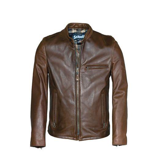 3ba7c3502ae Schott Nyc Perfecto 530 Café Racer Leather Jacket Zooloo