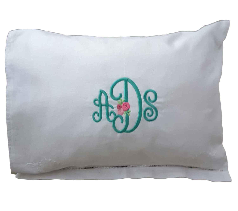 monogrammed baby pillow monogrammed baby pillow
