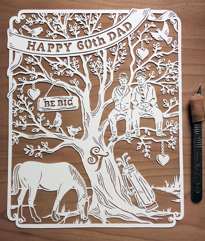 Papercut Words And Phrases MadebyJulene Papercut Art