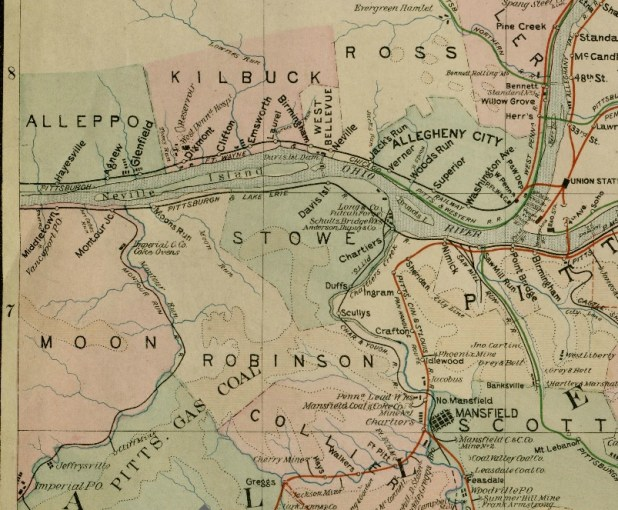 Maps     Coraopolis History Archive 1886 Driving map of Allegheny County  sht  1  G  M  Hopkins  Philadelphia