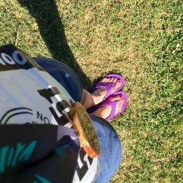 OOFOS recovery flip flops