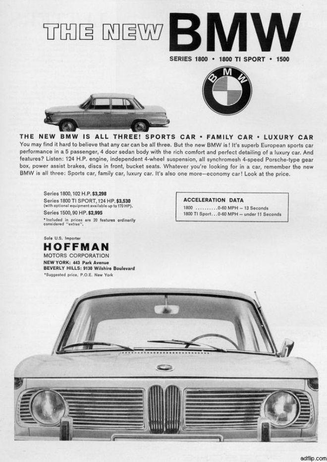 Between 1960's - BMW