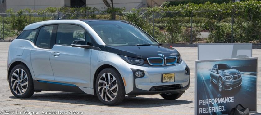 BMW i3 to test drive.