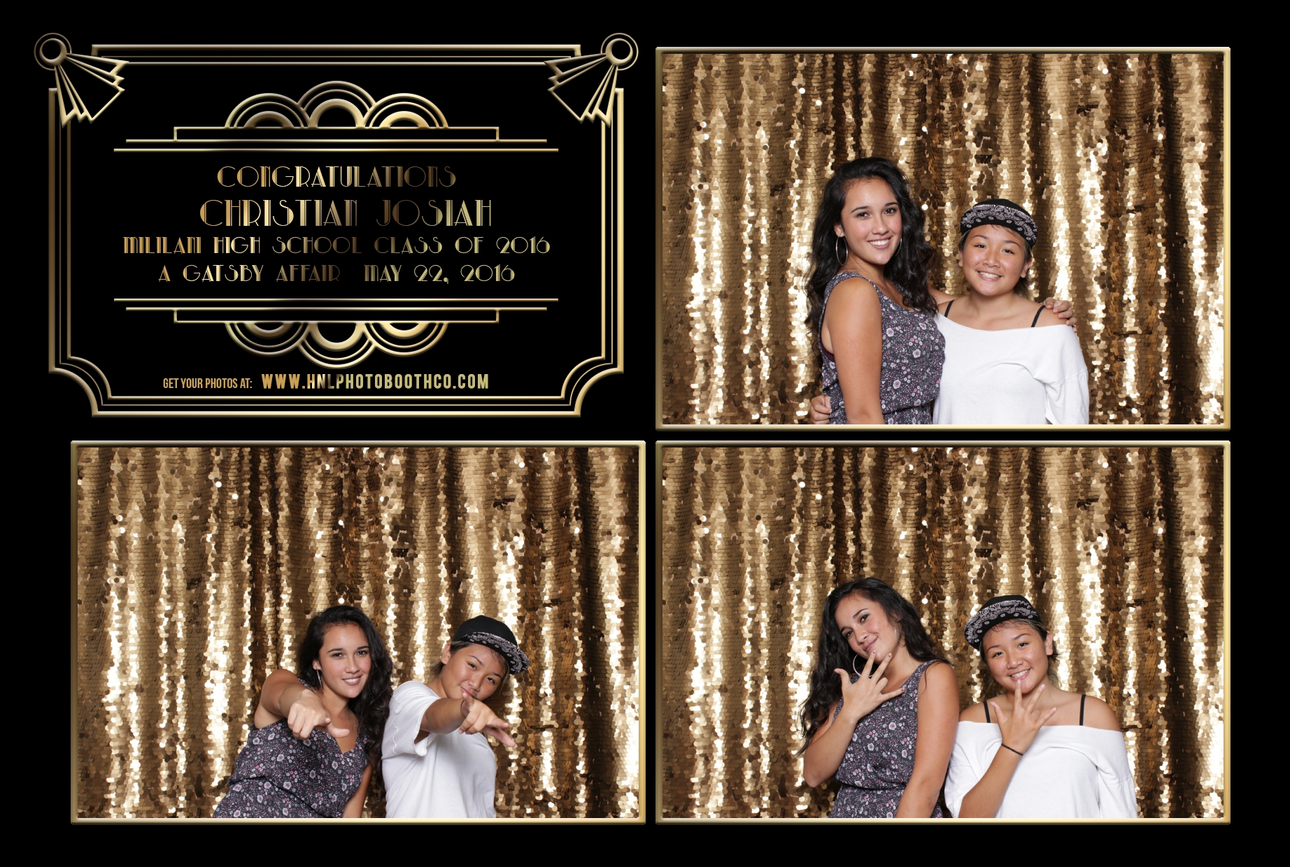 The Great Gatsby Christians Graduation Party Photo