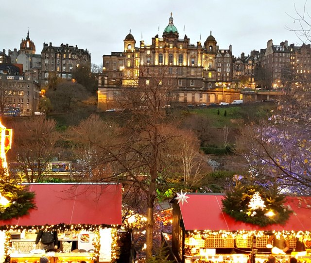 Edinburgh During The Festive Season Up To And After Hogmanay