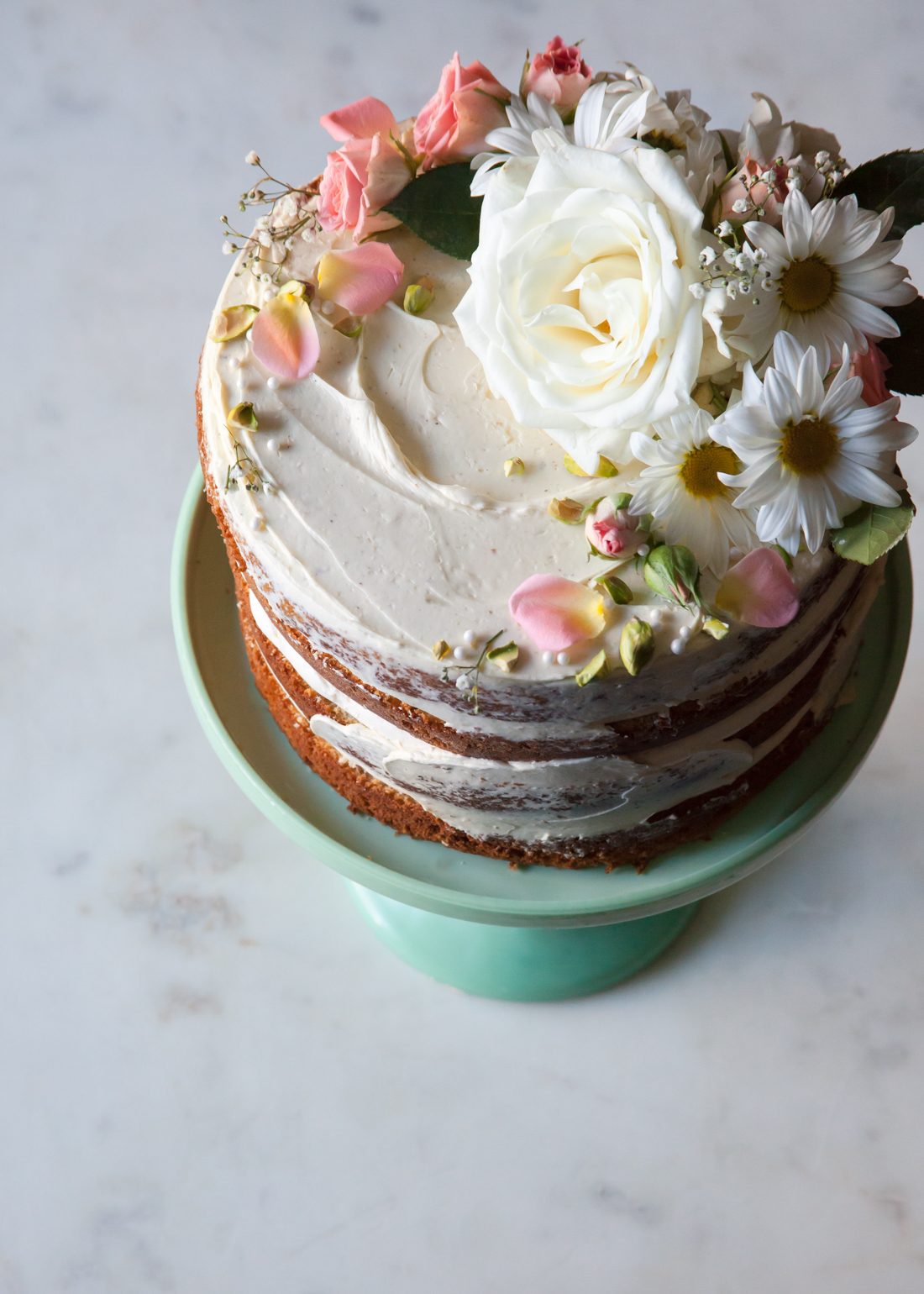 How to Make a Naked Cake     Style Sweet CA How to Make a Naked Cake