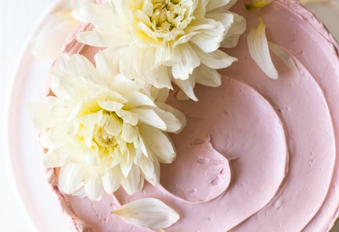 Lemon Poppy Seed Raspberry Layer Cake Style Sweet Ca