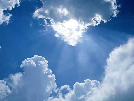 Illumination-through-the-clouds