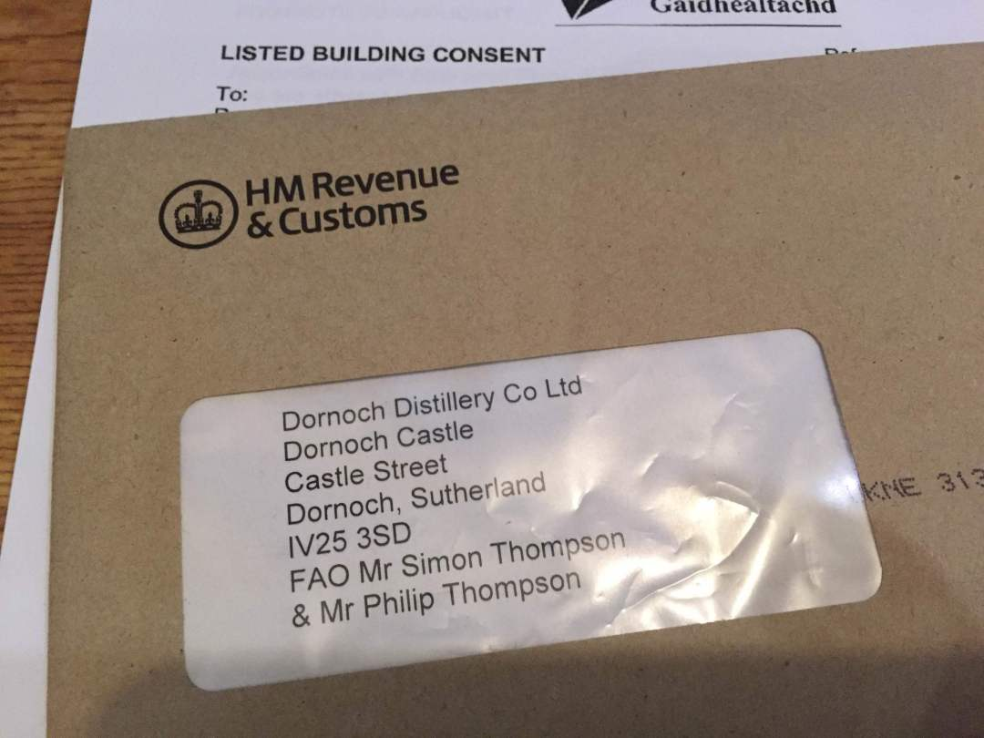 Am I the only person who gets excited when post comes in from HMRC?
