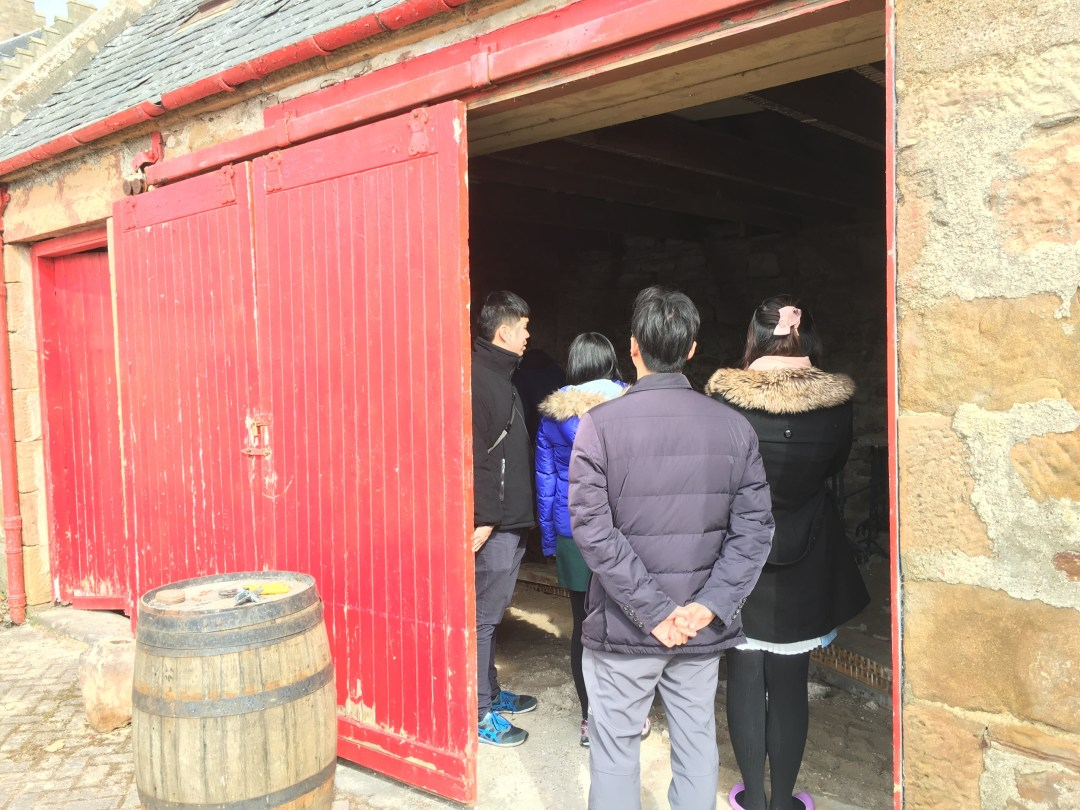 A site visit from Whisky enthusiasms from Hong Kong!