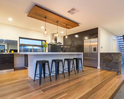 Add Design Style With A Bulkhead Calgary Custom Home
