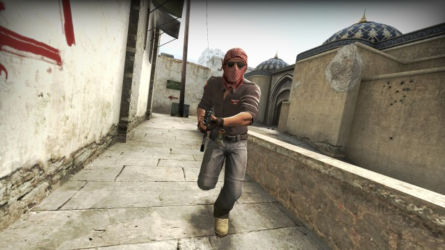 CSGO is a first person shooter developed by Valve and Hidden Path Entertainment which allows players to sell in-game items for real money.