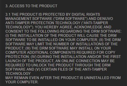 The clause within Far Cry Primal's EULA that caused the concern.