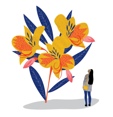 'Giant Flora' - Personal Work