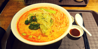 My laksa at Mei Xi's in Marina Bay Sands
