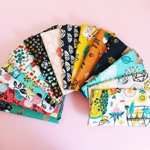 Birch fabric bundle