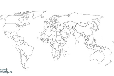 Travel Map Countries Visited Path Decorations Pictures Full Path - Create map of countries visited