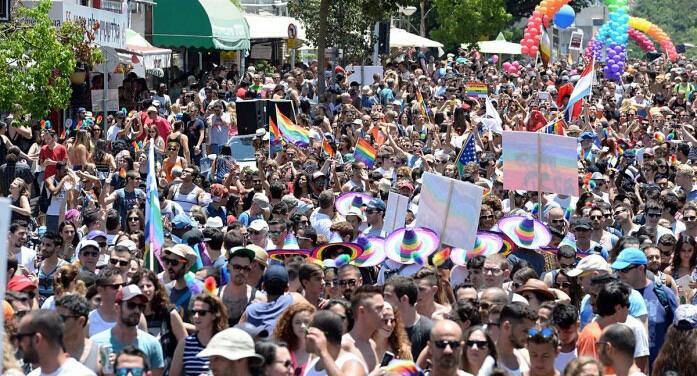 2015 Tel Aviv Pride Parade| Photo Credit: U.S. Embassy Tel Aviv