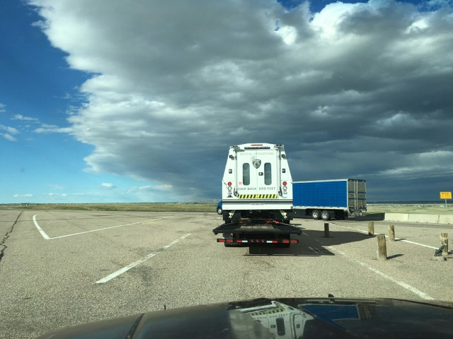 Secret military movements in Wyoming