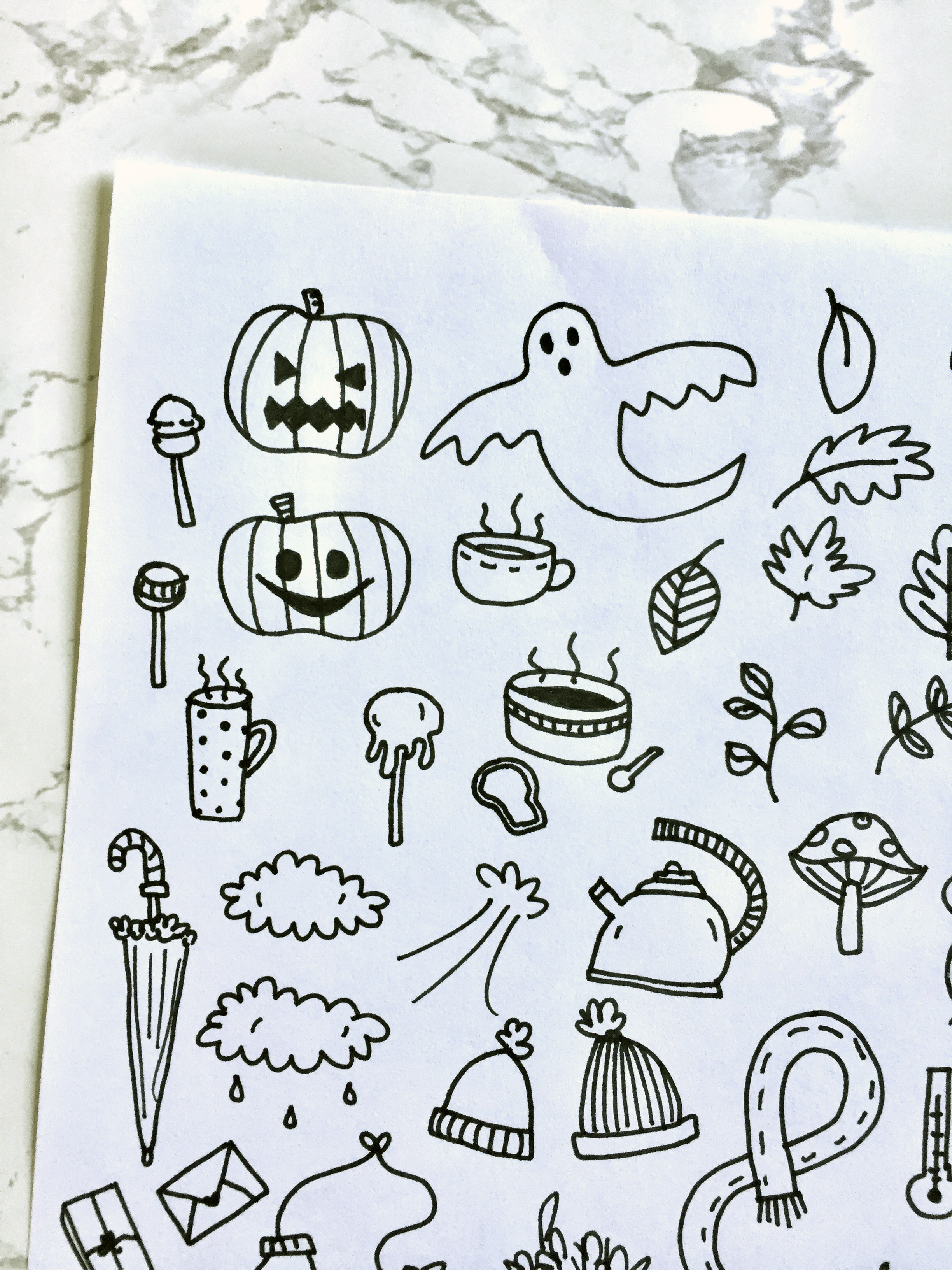 FREE Autumn Printables For Your Bullet Journal Or Planner