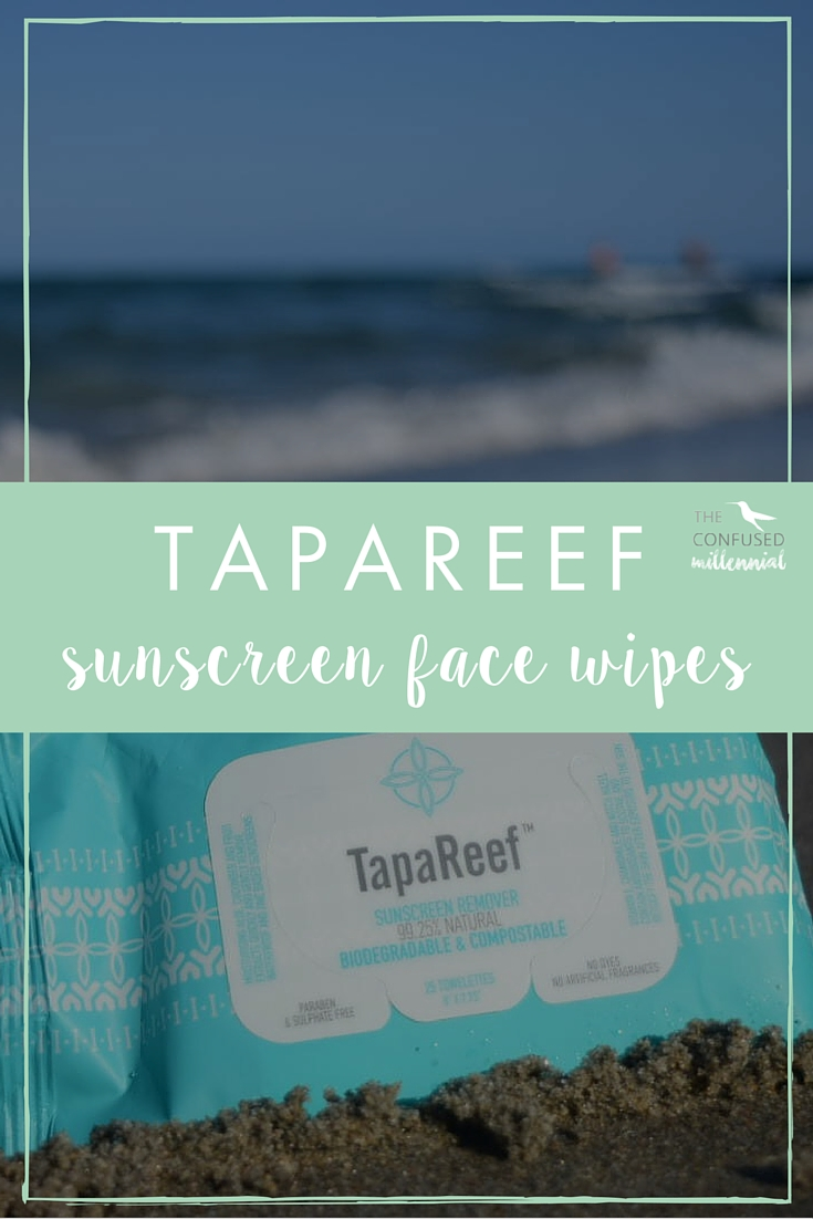 Must have for summer, tapareef sunscreen face wipes! Works for zinc based sunscreens and an all natural remedy to get tough sunscreen off your face. If you love the beach or spend a lot of time outside this are a must have for summer!