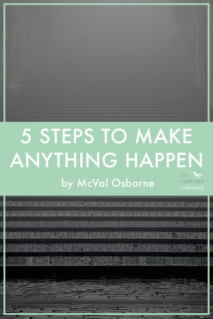 """How do you and I tap into that inner motivating force that tells us to go out there and create new things or set out to accomplish new goals even when fear and rejection feel crippling? I call it the """"START"""" framework. Similar to the idea behind setting SMART (Specific, Measurable, Attainable, Realistic, and Time-based) goals.It has helped me immensely as I've worked to set clearer goals and as I've looked for ways to improve my overall level of happiness in my day-to-day life.How did I come up with this?I sketched out this framework (I hate that word, but it works in this instance…) after speaking with close friends and like-minded millennials that I felt represented the """"gung ho"""" spirit I hoped to foster in myself. I also read a ton of articles and books on topics related to goal setting and motivation, some of which sucked but a lot that drastically improved my ability to reach my goals. - The Confused Millennial on setting goals"""