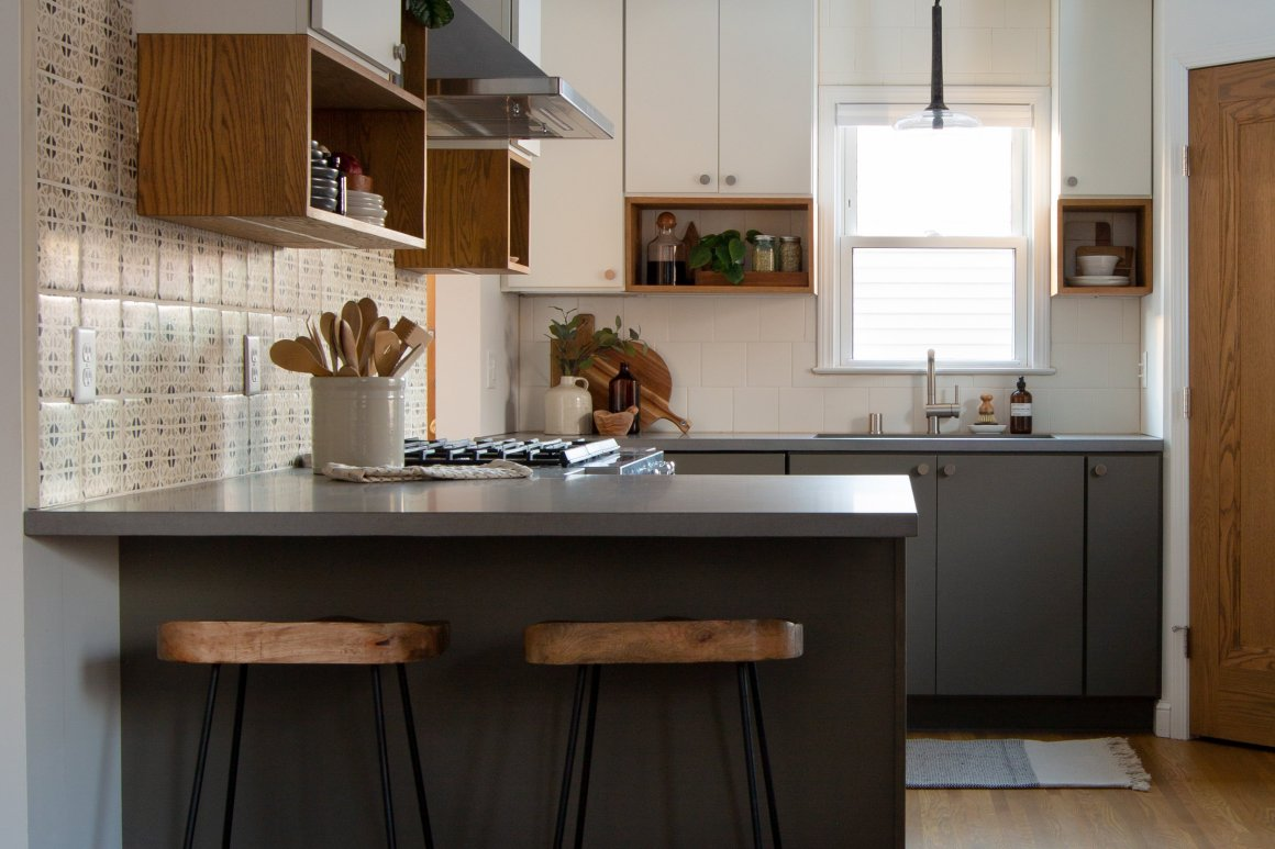 our work : modern eclectic kitchen remodel — olliepop : home design