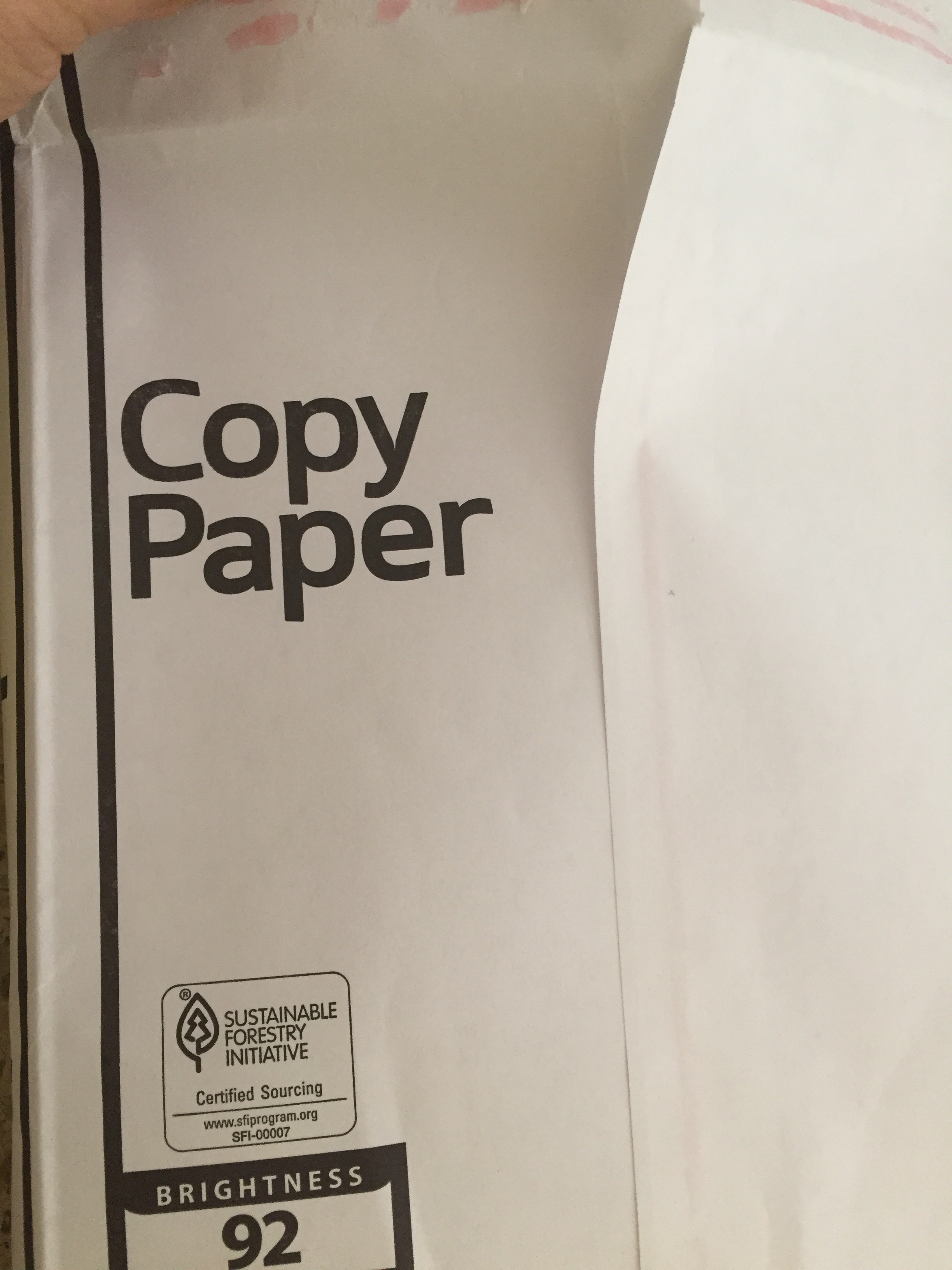 Thick paper is better