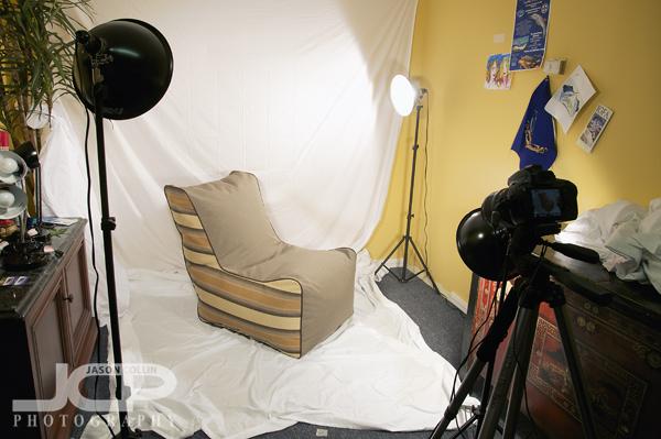 Three Light Setup Portrait